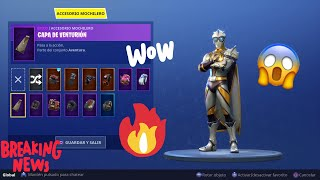 FORTNITE GIVES ME A MOCHILA!!! | THE VENTURION CAP!!! | TESTING IT ON ALL SKINS!!!