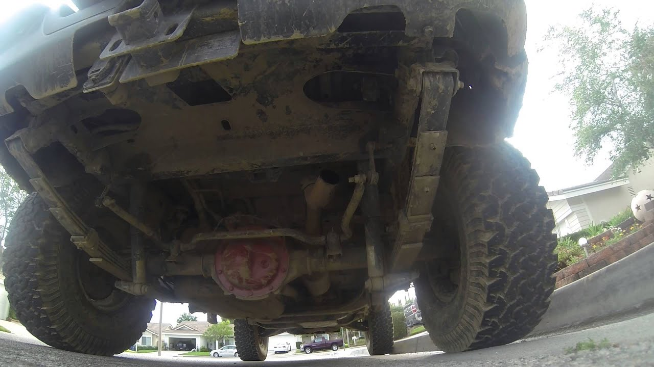 Hummer H3 muffler delete