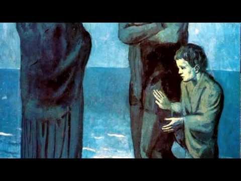 Pablo Picasso - Periodo Azul - Música Granados