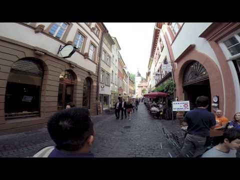 A Walking Tour of Heidelberg, Germany