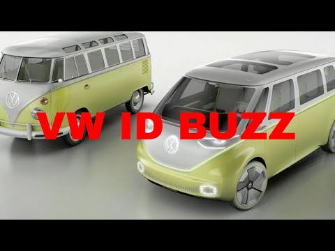 Electric VW Microbus minivan due 2022, based on ID Buzz: Confirmed
