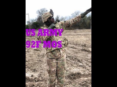 JOINING THE ARMY - US ARMY 92F MOS 2019