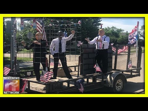 LOCK'EM UP! This Parade Float Is A DREAM COME TRUE And Dems Are FREAKING OUT!