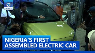 Governor Sanwo- Olu Launches Nigeria's First Electric Car