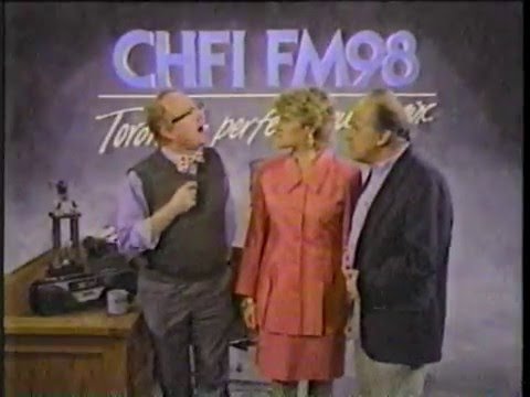 CFNY - Music First Commercal & CHFI - with Richard Sanders (Les Nessman) Commercial
