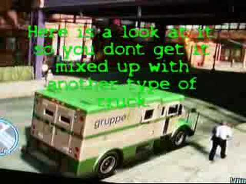 GTA IV Money Truck Guide! - YouTube