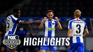 Hertha Bsc Tallies Four Second-half Goals In Win Vs. Fc Union Berlin | 2020 Bundesliga Highlights