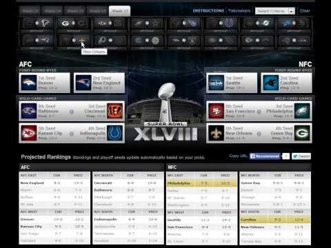 Week 14 NFL Playoff Machine Predictions 2013