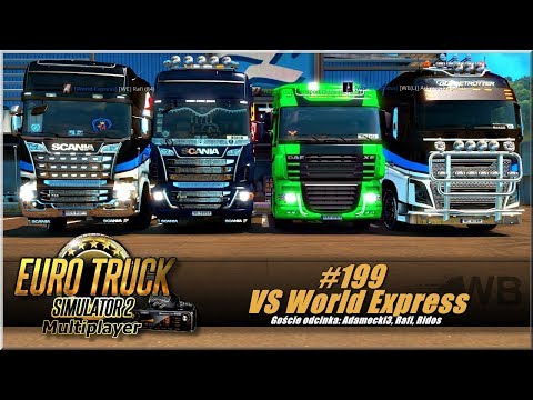 "Euro Truck Simulator 2 - #199 "" VS World Express"""