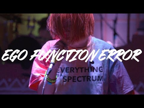 EGO FUNCTION ERROR   THE QUEEN OF THE FOOLS LIVE (OFFICIAL P/V)