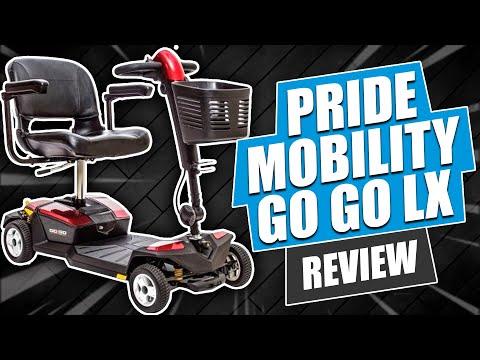 Pride Mobility Go Go LX Scooter Review