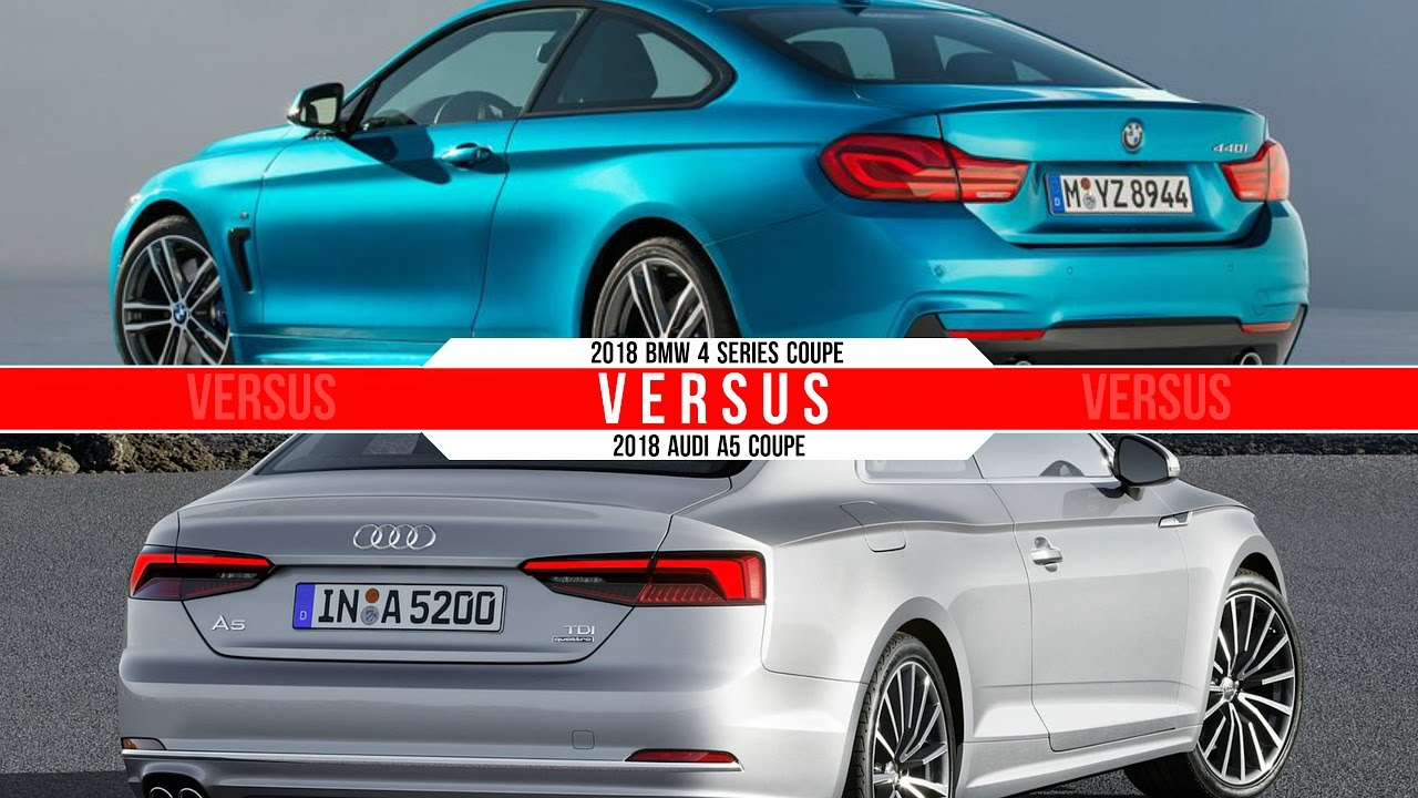 2018 BMW 4 Series Coupe Vs Audi A5