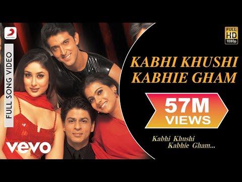 Kabhi Khushi Kabhie Gham - Shahrukh Khan   Lata Mangeshkar
