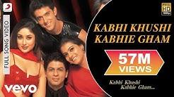 Kabhi Khushi Kabhie Gham Full Video - Title Track   Shah Rukh Khan   Lata Mangeshkar