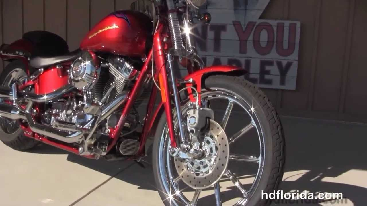 Used 2007 harley davidson cvo softail springer motorcycles for sale youtube