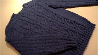 Мужской свитер.Размер 46-48.Часть №1