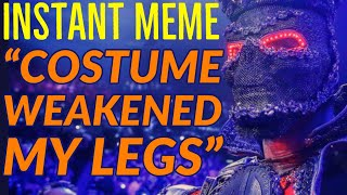 """DEONTAY WILDER CONCOCTS FARCICAL COSTUME EXCUSE FOR """"WEAKENED LEGS"""""""