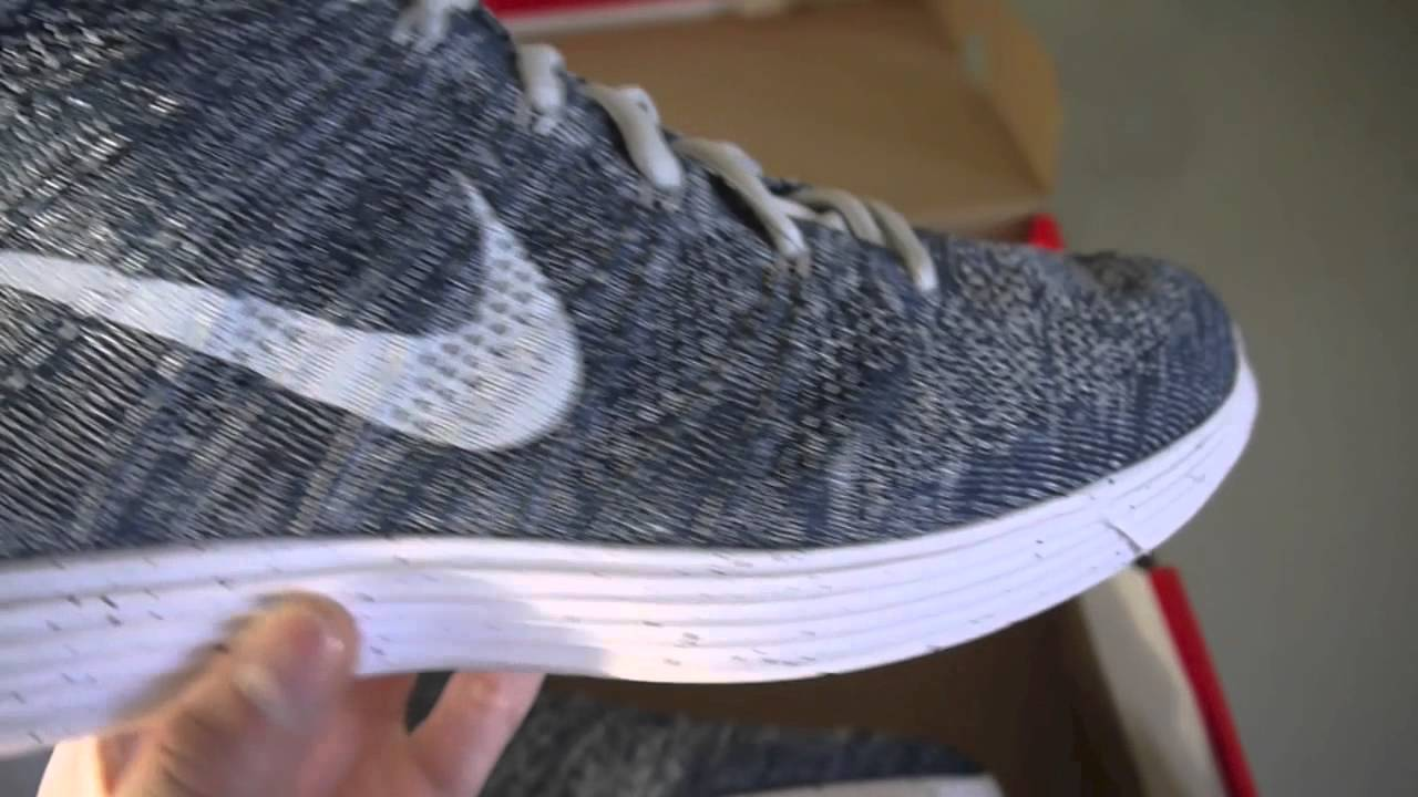 Nike Flyknit Chukka Squadron Blue Pure Platinum Review - YouTube c51971a43