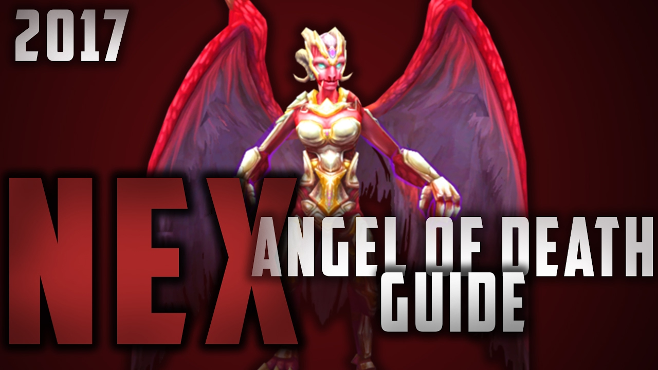 Angel Of Death 2017 runescape - 2017 nex angel of death guide!