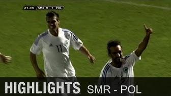 Geht doch! San Marinos 1. Tor seit 5 Jahren | San Marino - Polen 1:5 | WM-Quali