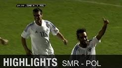 Geht doch! San Marinos 1. Tor seit 5 Jahren   San Marino - Polen 1:5   WM-Quali