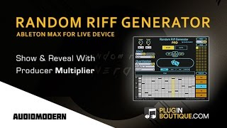 Random Riff Generator PRO From Audiomodern – Show Reveal