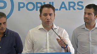 """PP critica que Sánchez haya """"despachado la situación con un tuit"""""""