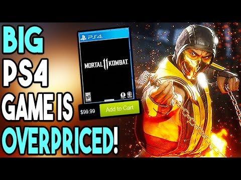 Big PS4 Game is Overpriced! Another PS4 Exclusive Coming?!
