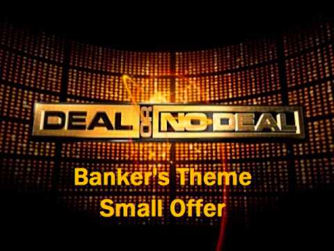 Deal or No Deal Cues - Banker's Theme/Small Offer