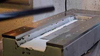 home made epoxy granite cnc - part 1 machine bed