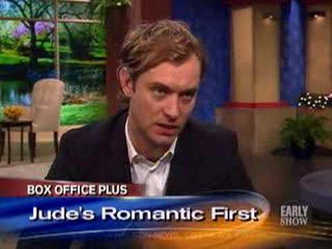 Jude Law On 'Holiday' CBS
