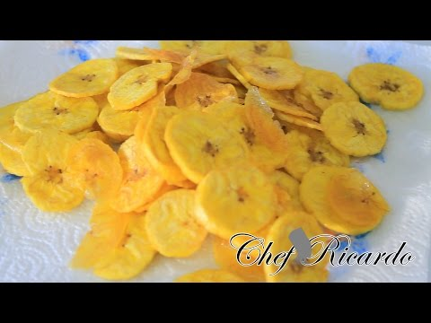 Fried Plantain Chips Recipes | Recipes By Chef Ricardo