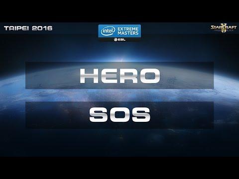 StarCraft 2 - herO vs. SOS (PvP) - IEM Taipei 2016 - Semifinal