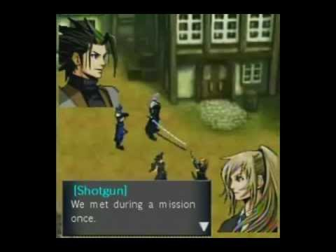 Cloud and Tifa Before Crisis ALL Scenes FFVII Part 2