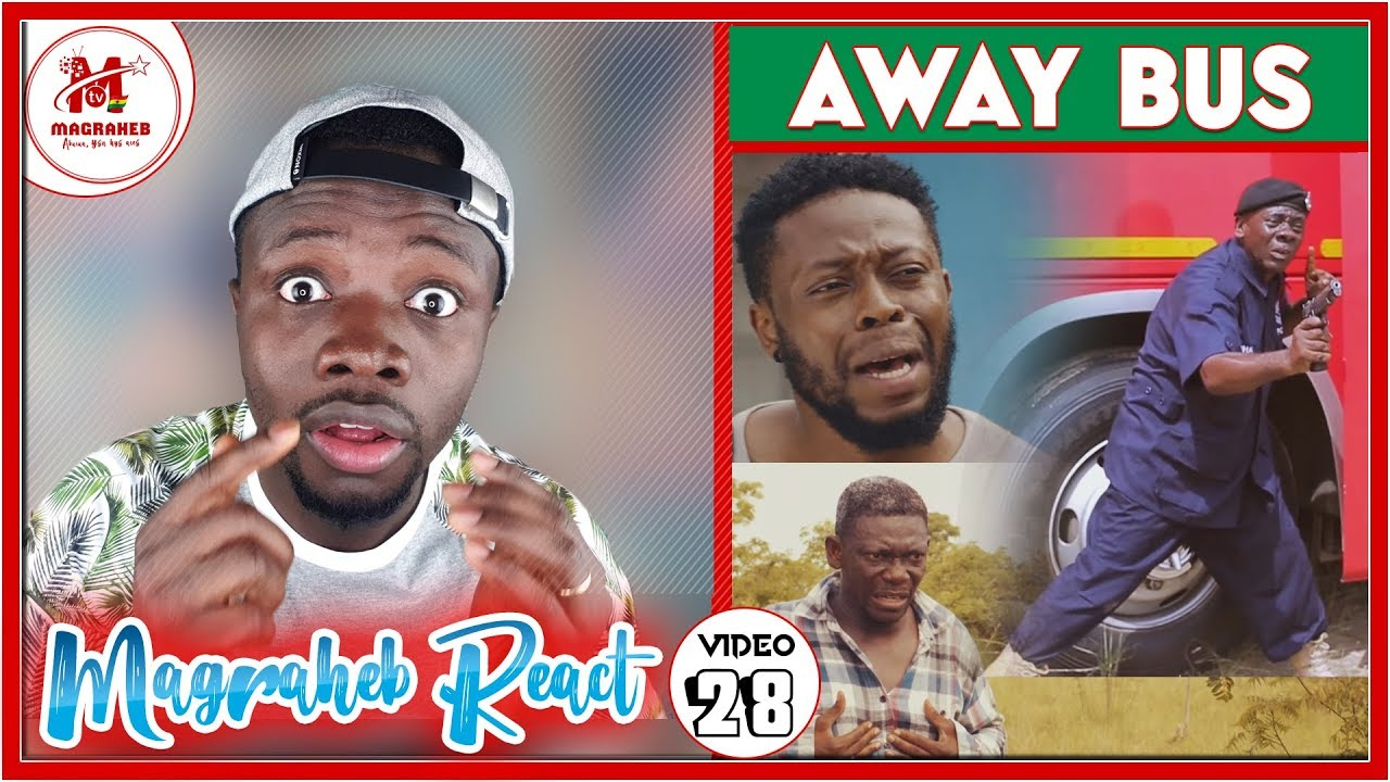 Download Magraheb Reacts to AWAY BUS, the Biggest 2019 Ghana Movie by Kofas Media
