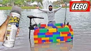 LEGO FLEX SEAL BOAT DIY! (Will it Float??)