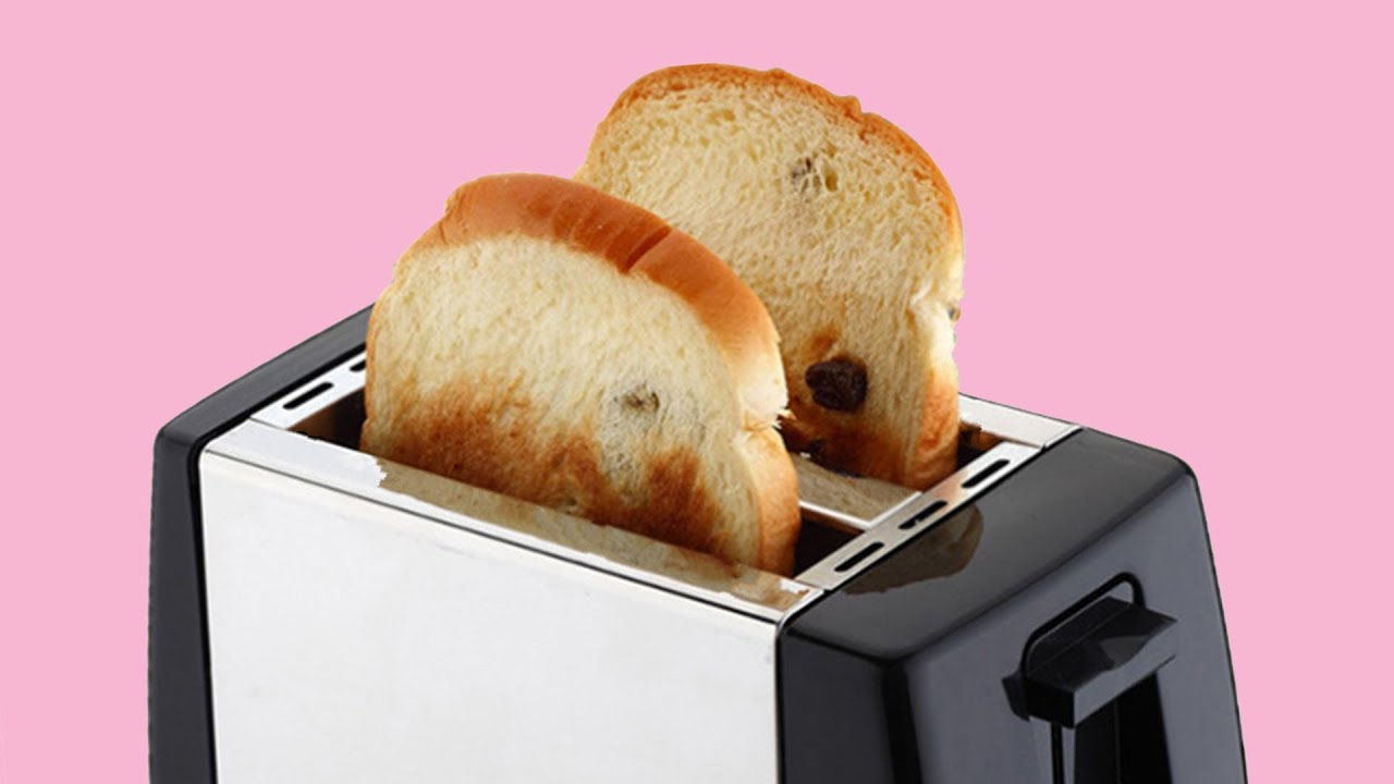 Haunted Toaster Posessed By Devil
