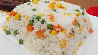 Sebzeli Pirinç Pilavı / Sebzeli Pirinç Pilavı Nasıl Yapılır