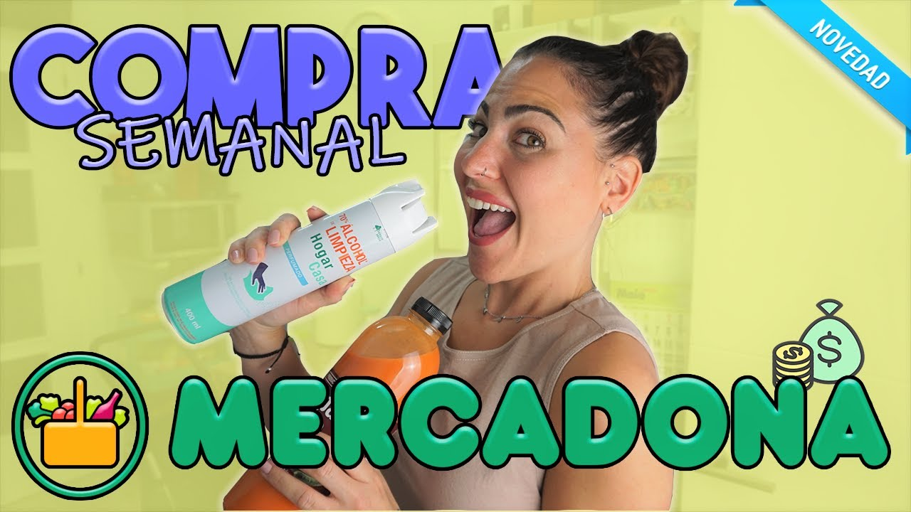 🍫SUPER COMPRA SEMANAL MERCADONA Julio'20 | Carla Wonderland