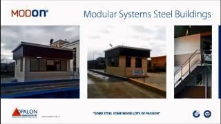 OPALON préfabriqués Container acier structure modulaire bâtiment MODON