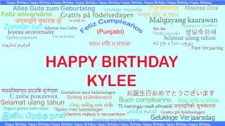 Kylee   Languages Idiomas - Happy Birthday