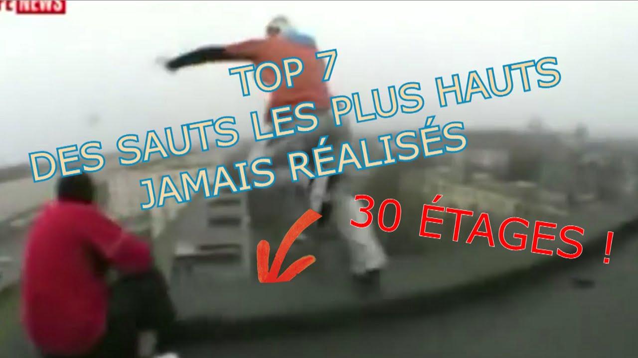 TOP des plus hauts sauts (moto, plongeon, immeuble,...)