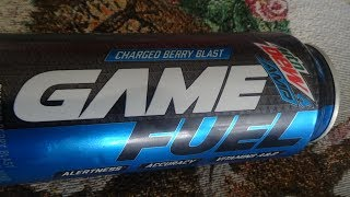 Mountain Dew AMP Game Fuel Berry Blast Drink Review