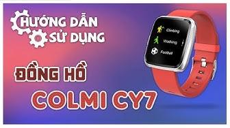 Đồng hồ Colmi CY7 hướng dẫn sử dụng