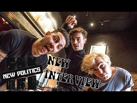 NEW POLITICS Interview with Music Junkie Press at The Fillmore in SF