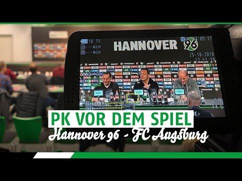 RE-LIVE: PK vor dem Spiel | Hannover 96 - FC Augsburg