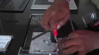 Replacing MacBook Pro Hard Drive Bracket/Cable (A1278/MacBook9,2)