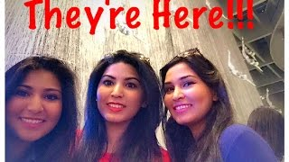 THEY'RE HERE!!! Spring break Day 1 [March 13th 2015 | Vlog #10]