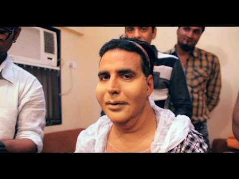 Akshay Kumar, Slim Boy Turns Fat - Entertainment Behind the Scene Making