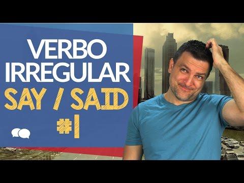 50 Verbos Irregulares Mais Usados em Inglês #1